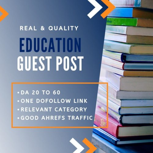 Education Guest Post