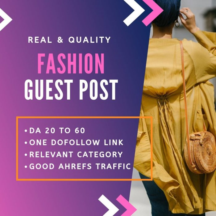 Fashion Guest Post