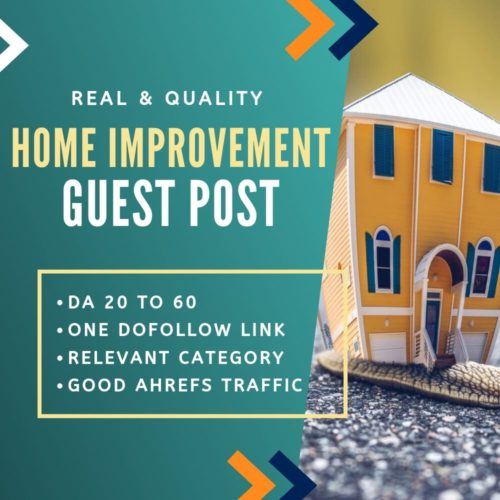 Home Improvement Guest Post
