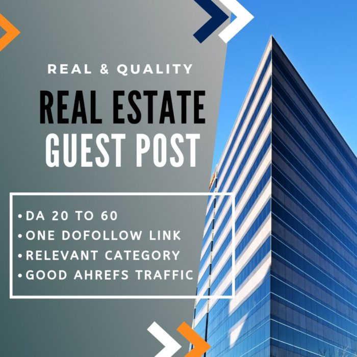 Real Estate Guest Post