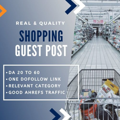 Shopping Guest Post