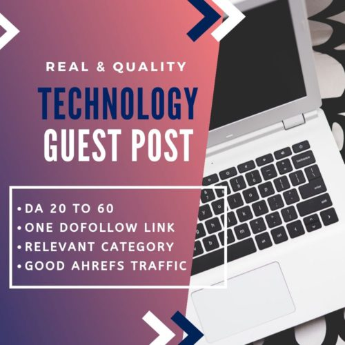 Technology Guest Post